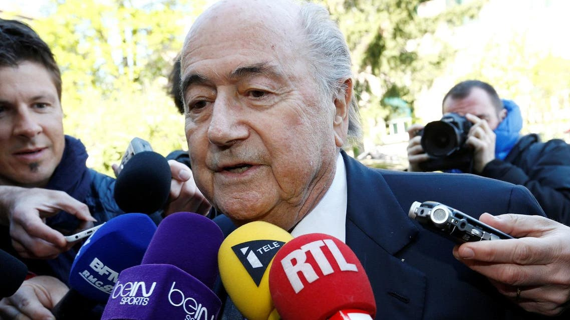 Blatter has been providing more detail about the most disputed vote in World Cup history. (Reuters)