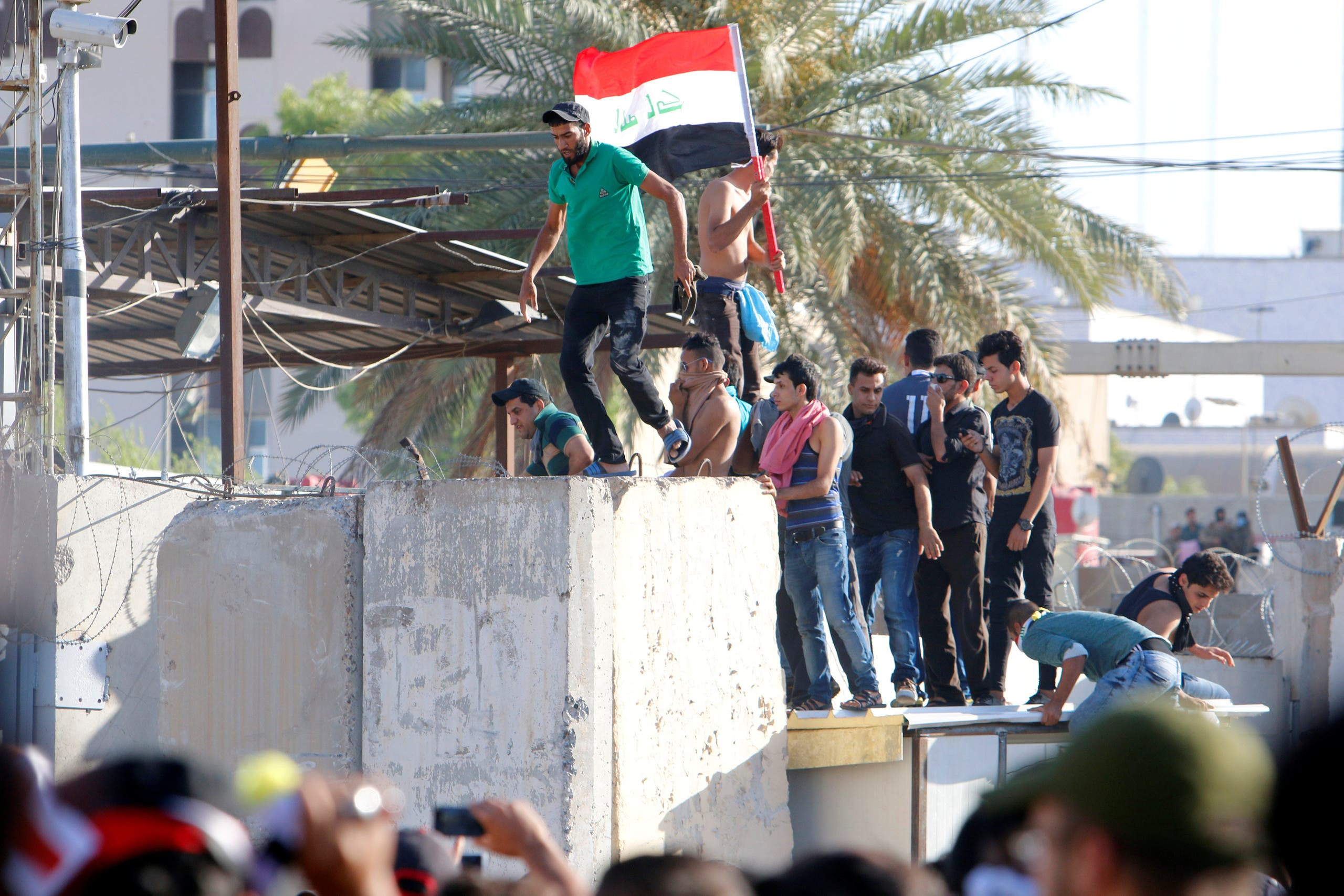 تظاهرات ضد دولتی در بغداد