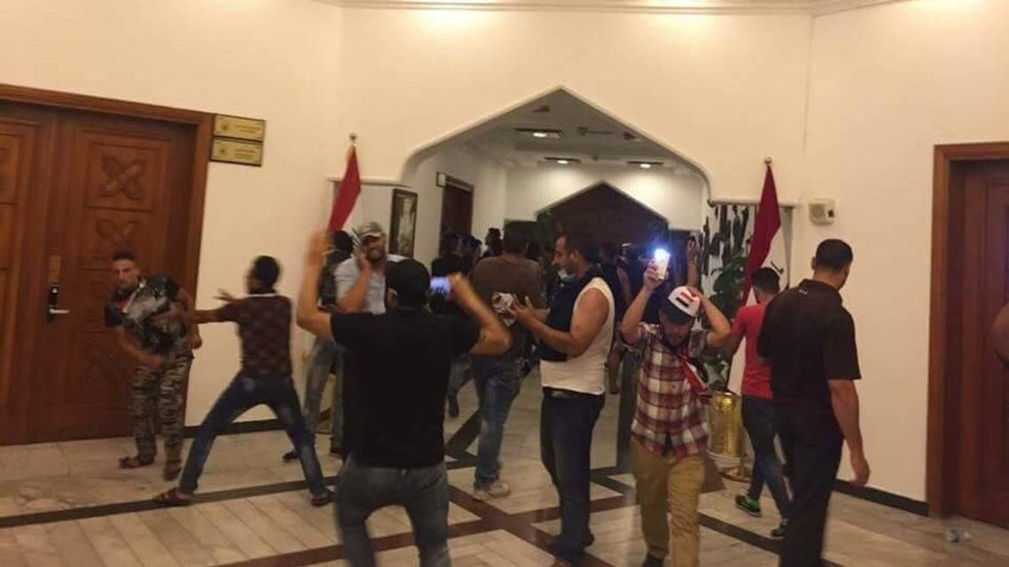 متظاهرون العراق بغداد