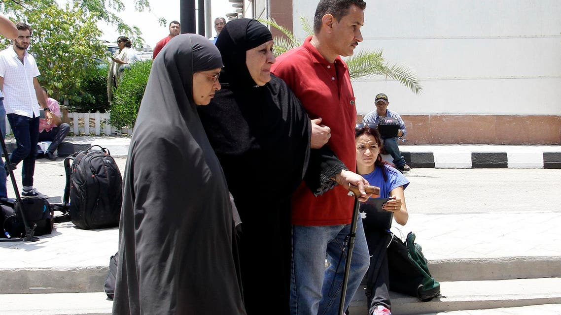 Families weep over EgyptAir flight disappearance