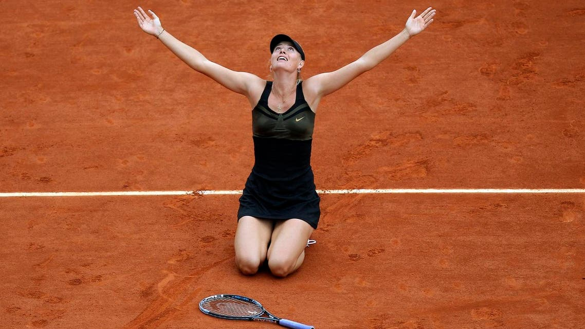 Sharapova stunned the world in March when she said she had returned a positive test for the Latvian-made heart medication. (AP)