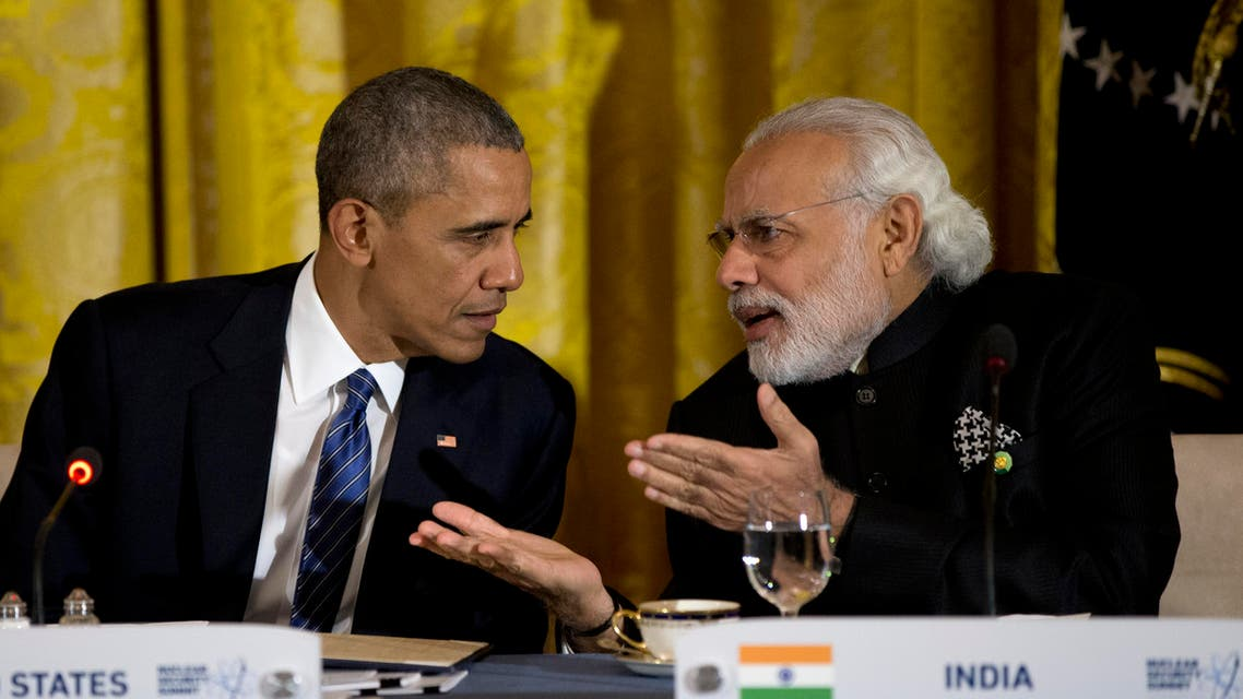 A series of technical steps could allow the men to announce US nuclear companies entering the potentially lucrative Indian market. (File photo: AP)