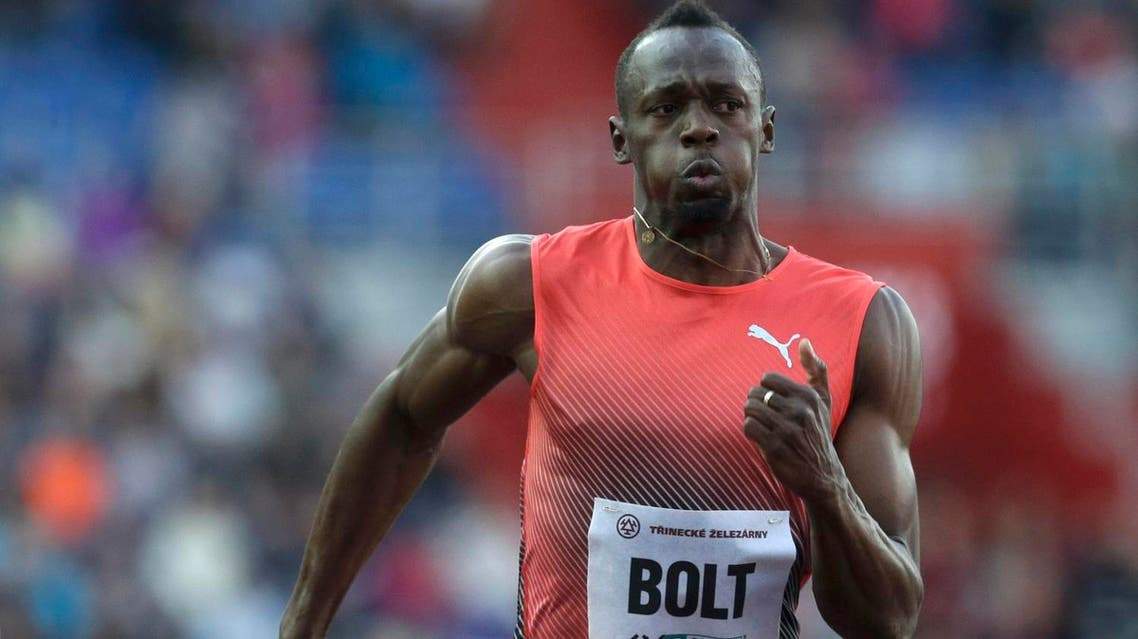 Bolt, making his second start this season, faced little competition in his annual trip to the Czech event as he ran in 9.98 secs. (Reuters)