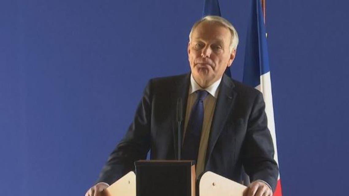 وزير الخارجية الفرنسي جان مارك أيرو