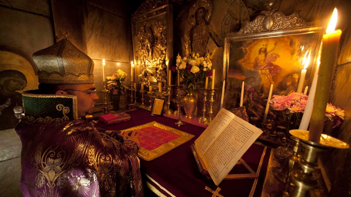 The Custos is responsible for administering holy sites, Catholic schools and training seminarians. (AP)