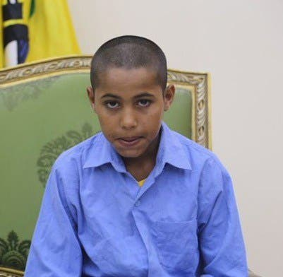 الطفل أسامة أحمد حماد