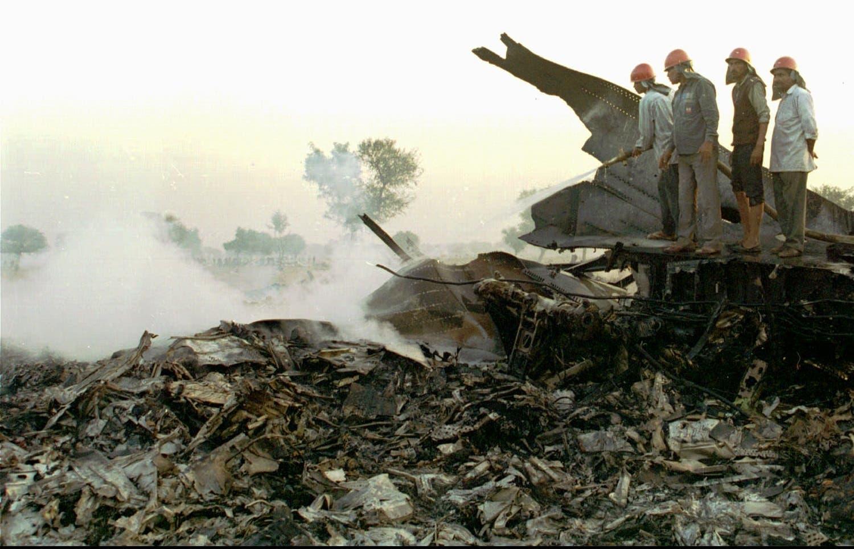 Saudi Arabian Airlines - Kazakhstan Airlines collision