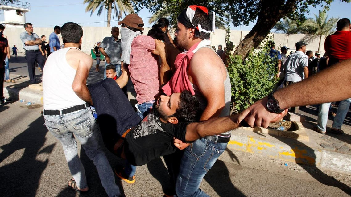 Forces used live, rubber bullets and tear gas to dislodge protesters from district that houses government buildings, parliament and embassies. (Reuters)