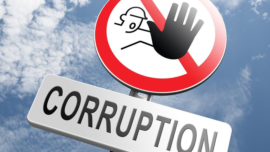 corruption shutterstock