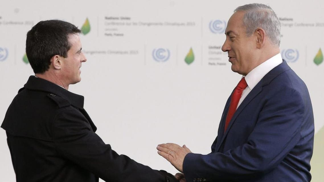 Valls is in Israel to advance his country's plan to restart Israeli-Palestinian peace efforts. (File photo: AFP)