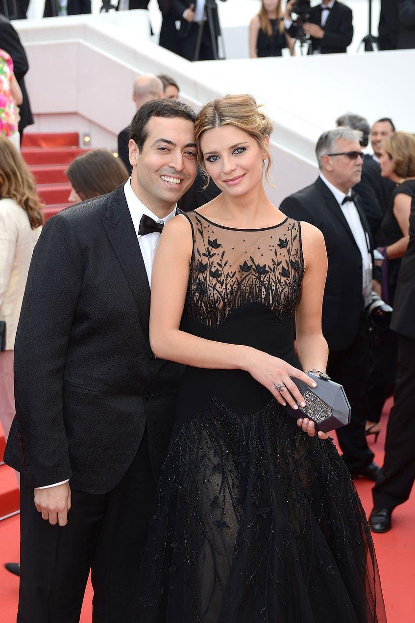 محمد التركي وميشا بارتون