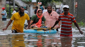 Three dead in Sri Lanka from floods and mudslides, over 5,000 displaced