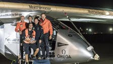 Solar-powered plane lands in Ohio after flight from Oklahoma