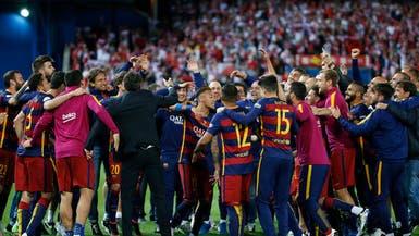برشلونة يصعق أشبيلية في الأشواط الإضافية ويحتفظ بالكأس