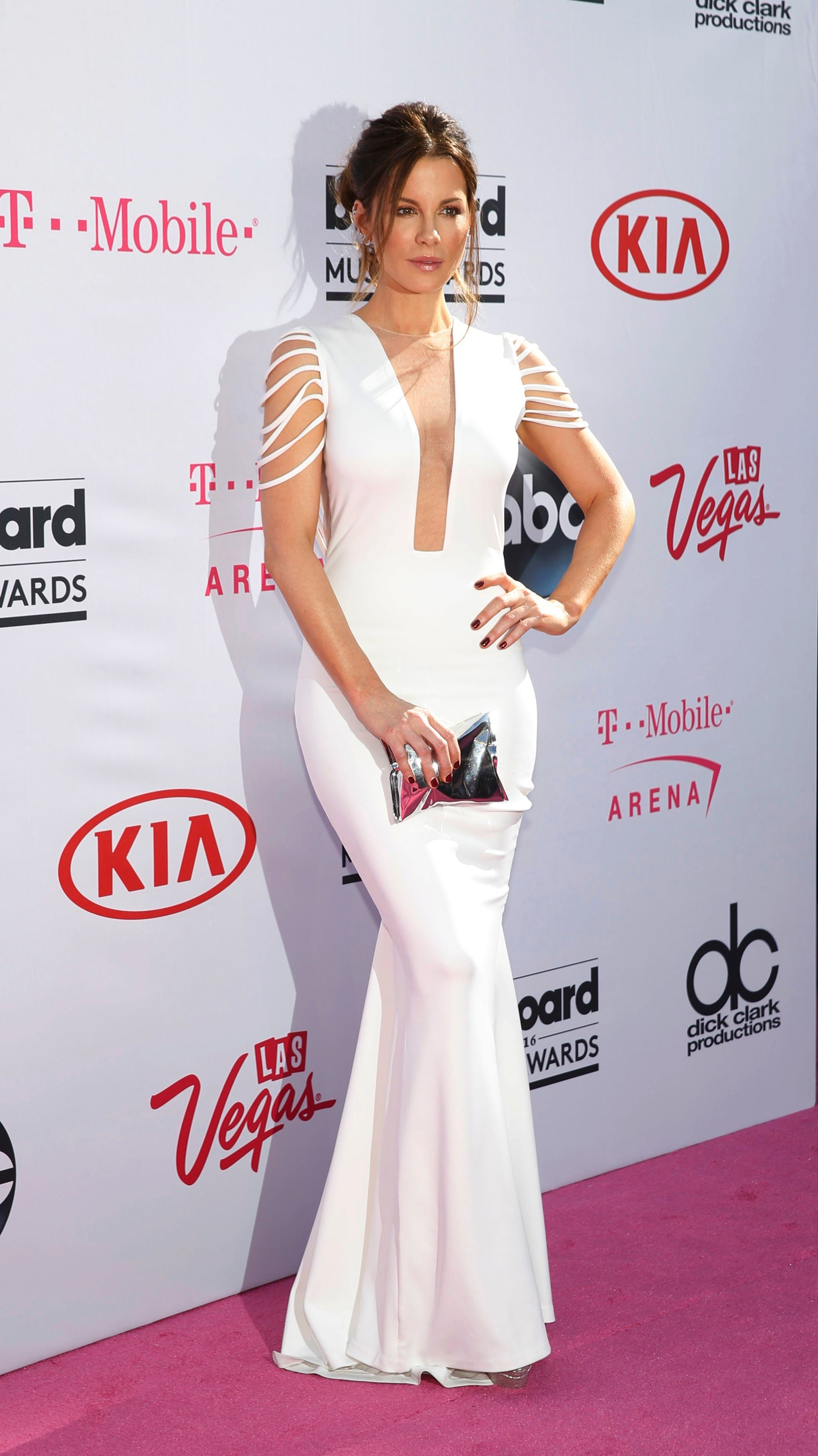 Actress Kate Beckinsale arrives at the 2016 Billboard Awards in Las Vegas, Nevada, US, May 22, 2016. (Reuters)