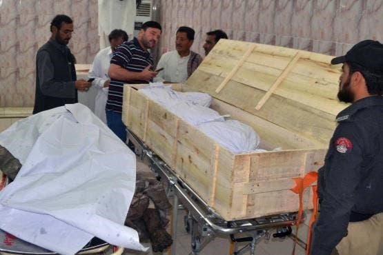 جثة زعيم طالبان أختر منصور
