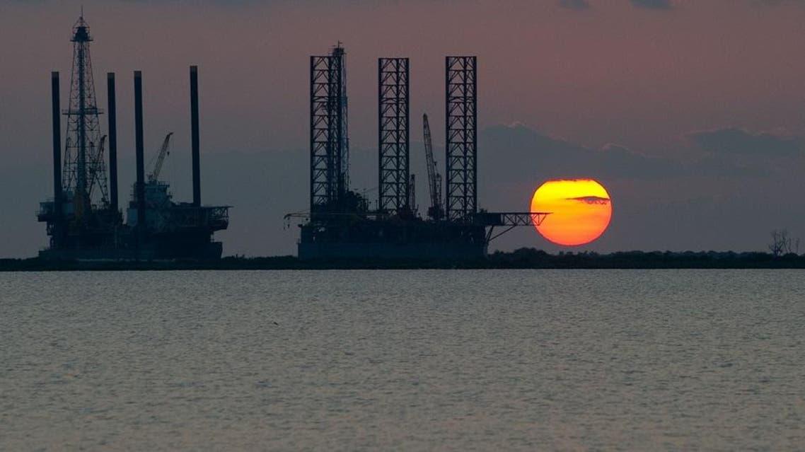 oil rig AFP