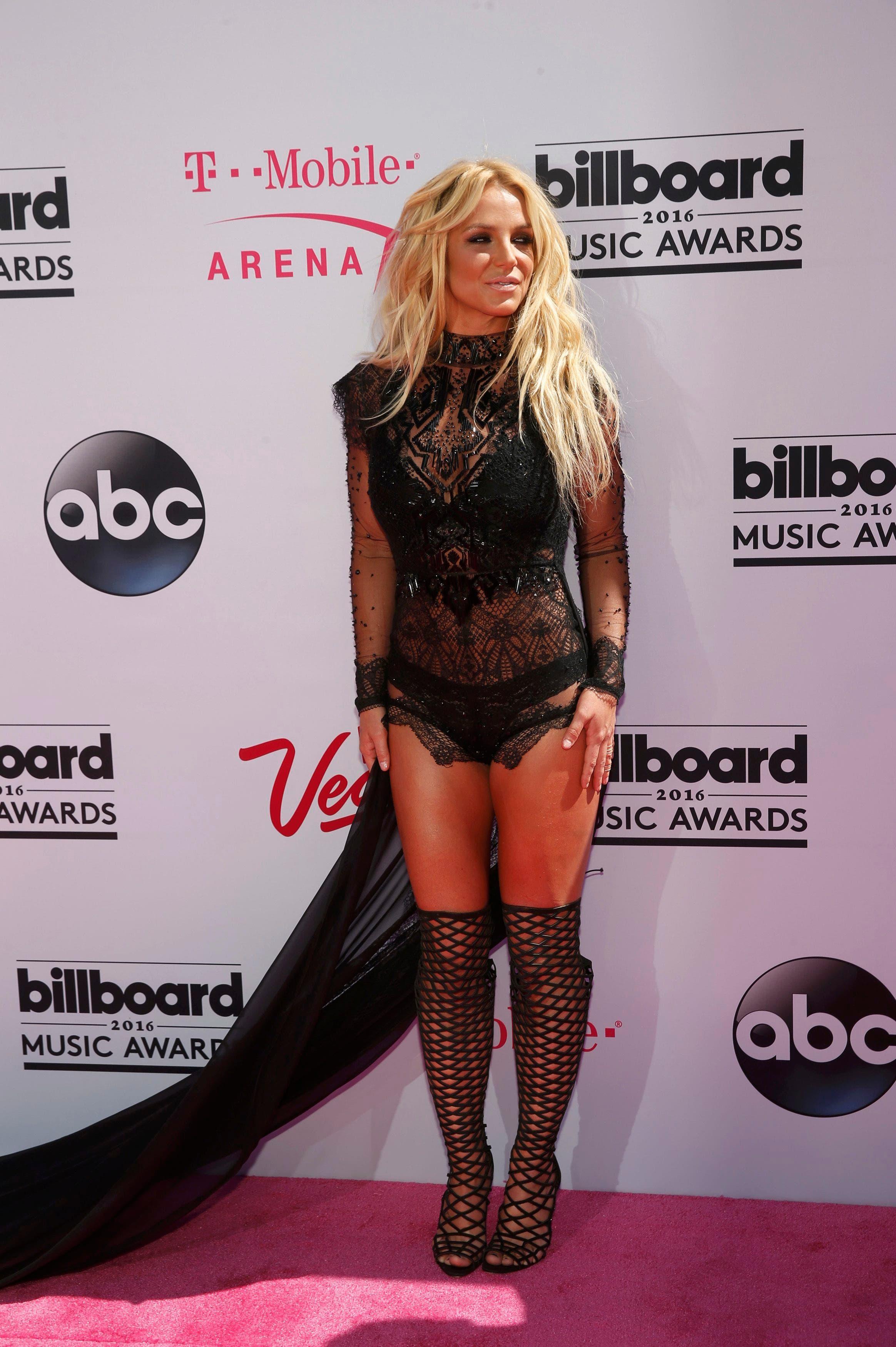 Singer Britney Spears arrives at the 2016 Billboard Awards in Las Vegas, Nevada, US, May 22, 2016. (Reuters)