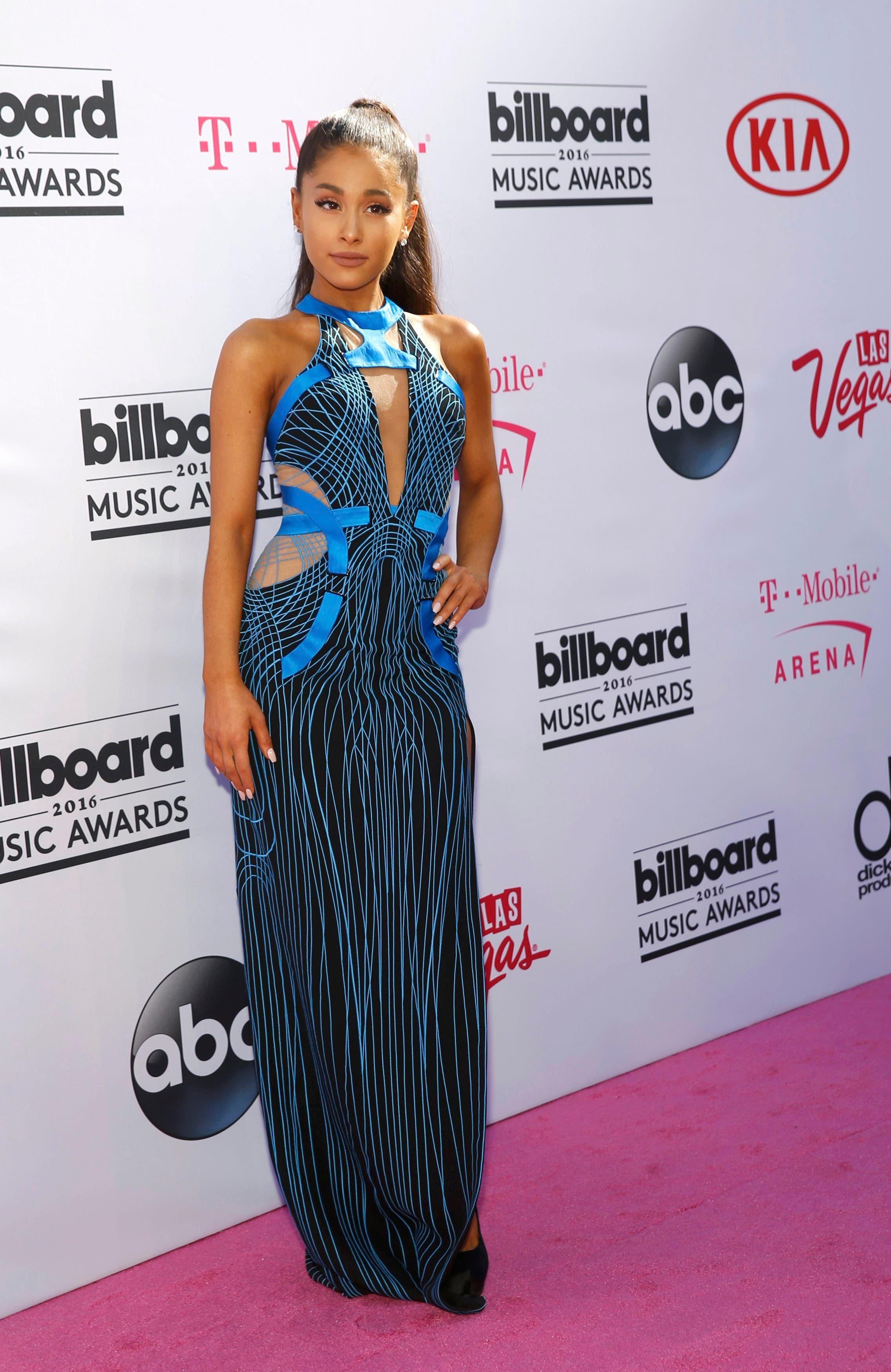 Singer Ariana Grande arrives at the 2016 Billboard Awards in Las Vegas, Nevada, US, May 22, 2016. (Reuters)