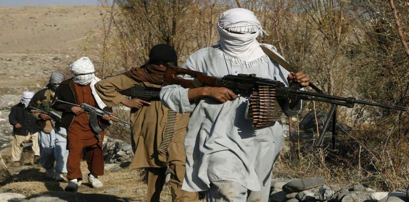 قوات طالبان على الحدود الإيرانية