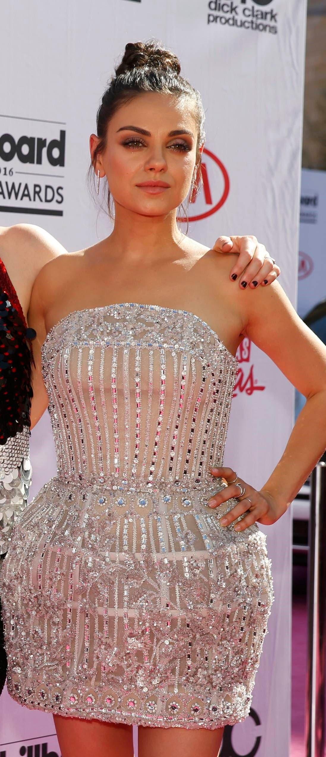 Mila Kunis arrives at the 2016 Billboard Awards in Las Vegas, Nevada, US, May 22, 2016. (Reuters)