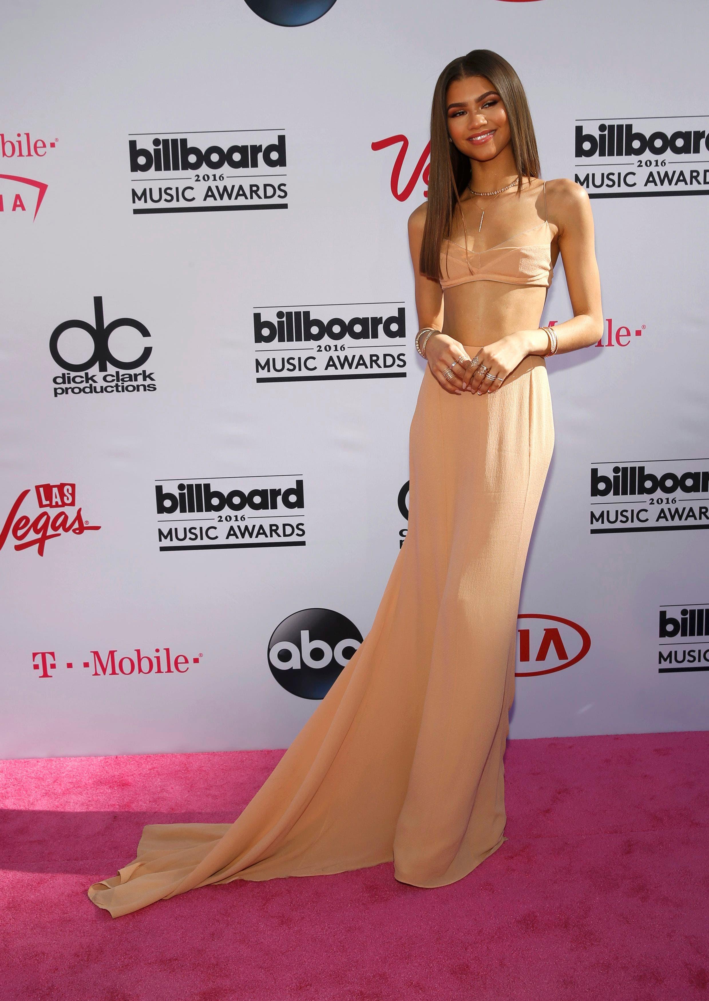 Singer Zendaya arrives at the 2016 Billboard Awards in Las Vegas, Nevada, US, May 22, 2016. (Reuters)