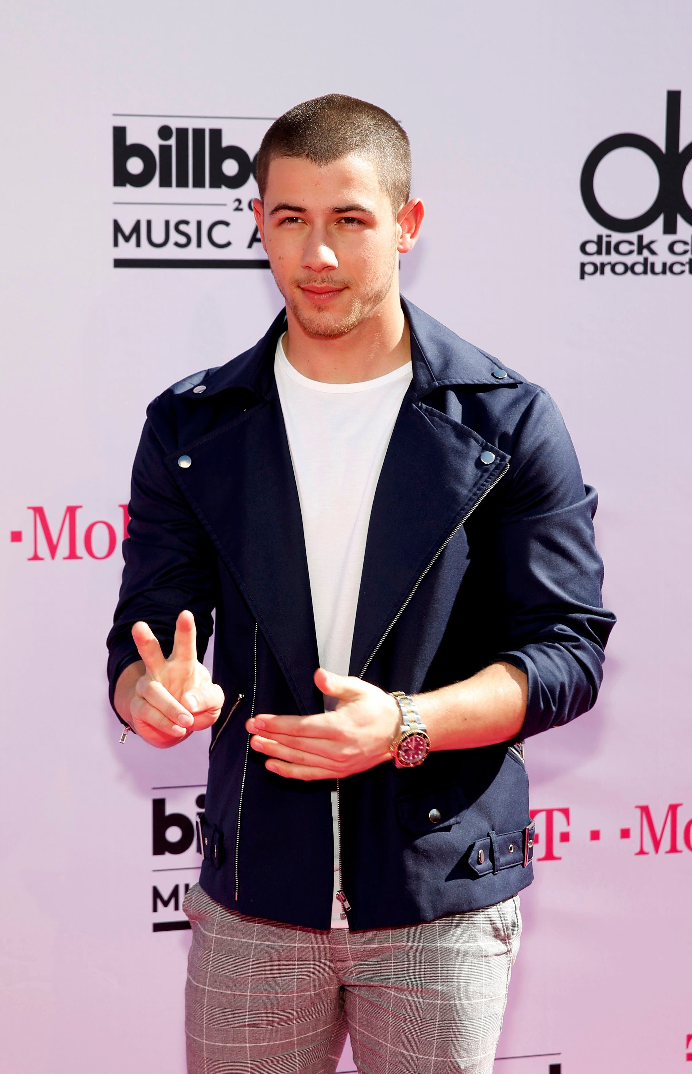 Singer Nick Jonas arrives at the 2016 Billboard Awards in Las Vegas, Nevada, US, May 22, 2016. (Reuters)