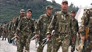 الجيش الجزائري يقتل 8 متطرفين مسلحين