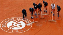 Rain delays mar opening two days at French Open
