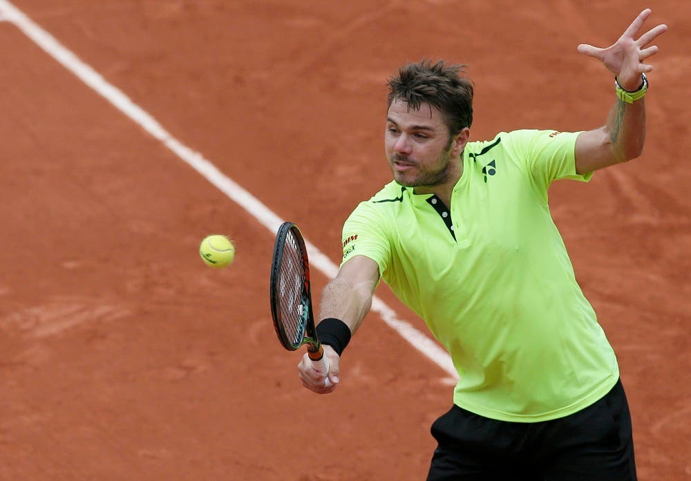 Third seed Wawrinka did book his place in the second round, although his path to victory against straight-hitting Lukas Rosol was equally tortuous. (Reuters)