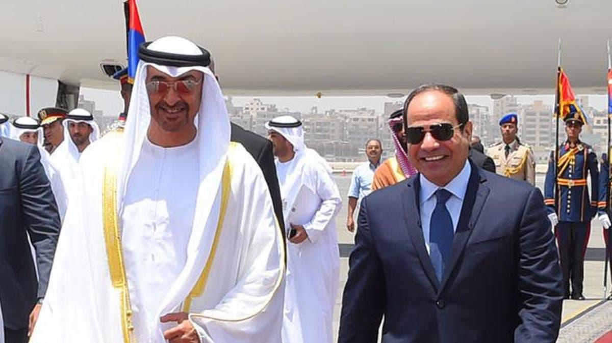 السيسي ومحمد بن زايد يجريان محادثات في القاهرة حول قضايا المنطقة