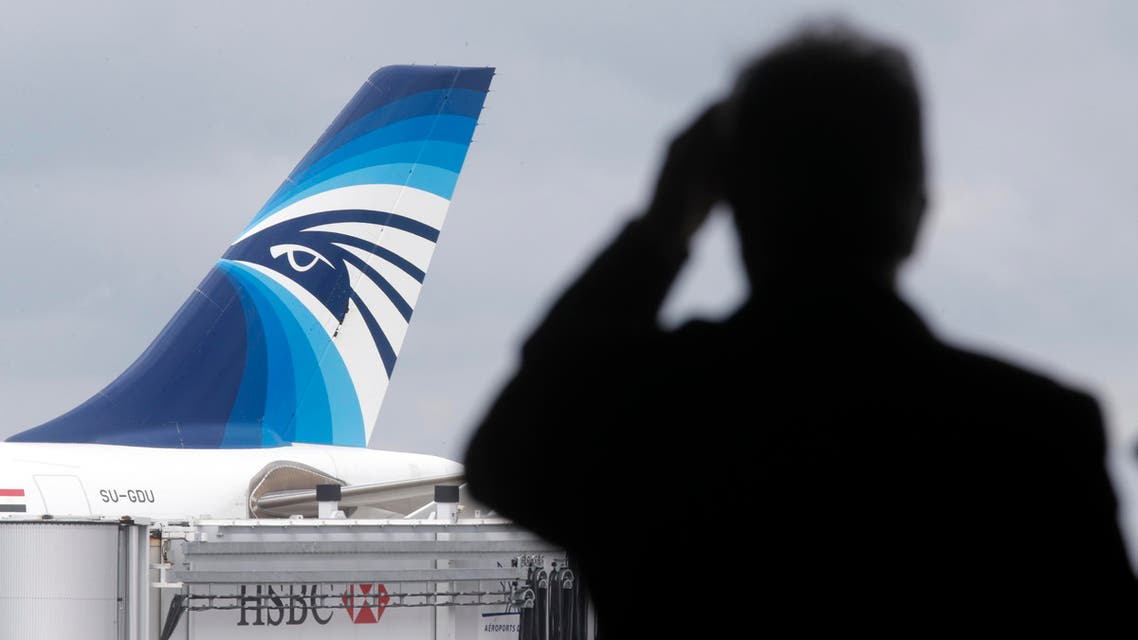 """Egypt's largest state newspaper also reported that EgyptAir flight 804 transmitted 11 """"electronic messages"""" starting at 2109 GMT. (Reuters)"""