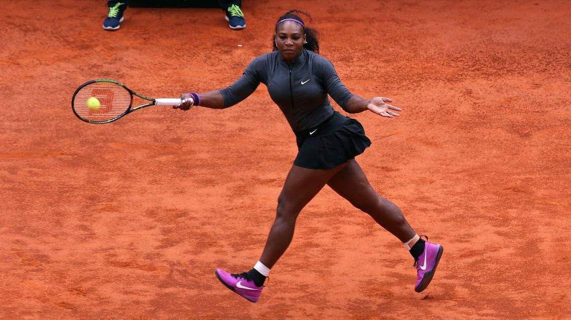 Serena Williams, who owns 21 grand slam singles titles, will next face either Brazilian Teliana Pereira or Czech Kristyna Pliskova. (Reuters)