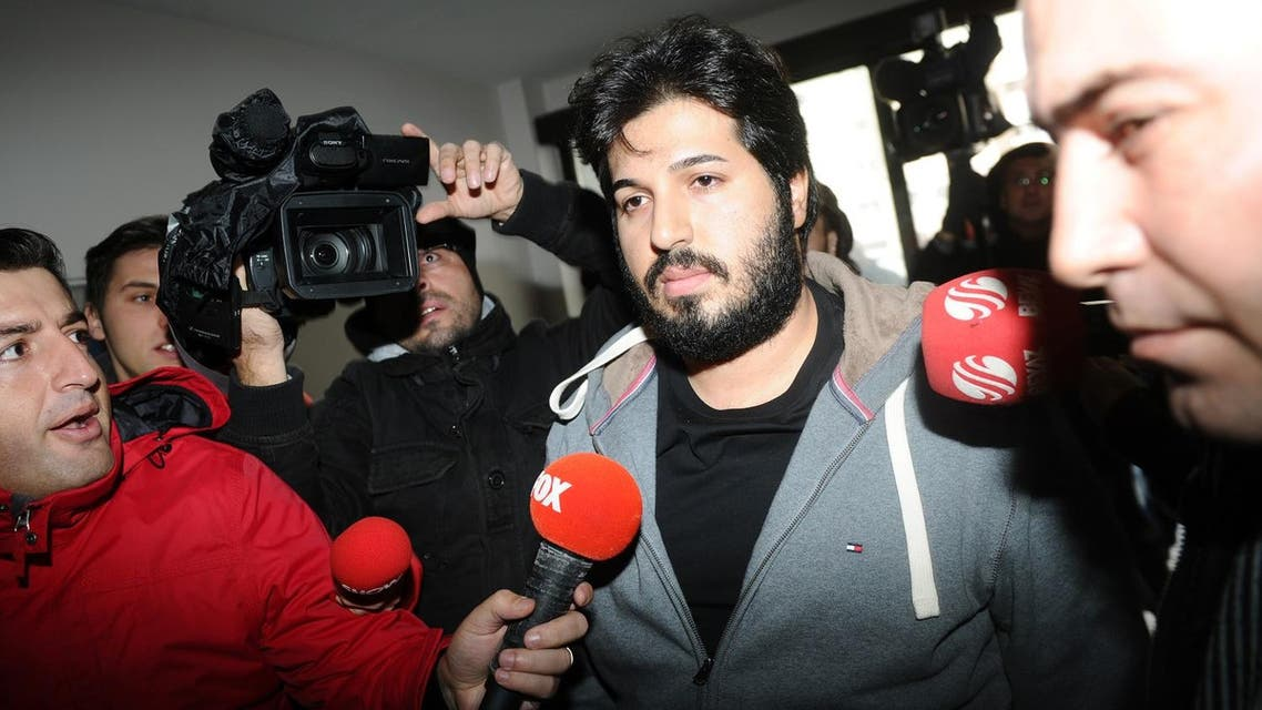 Reza Zarrab is charged with helping Iranian individuals and entities evade US sanctions by conducting transactions through companies abroad. (File photo: AFP)