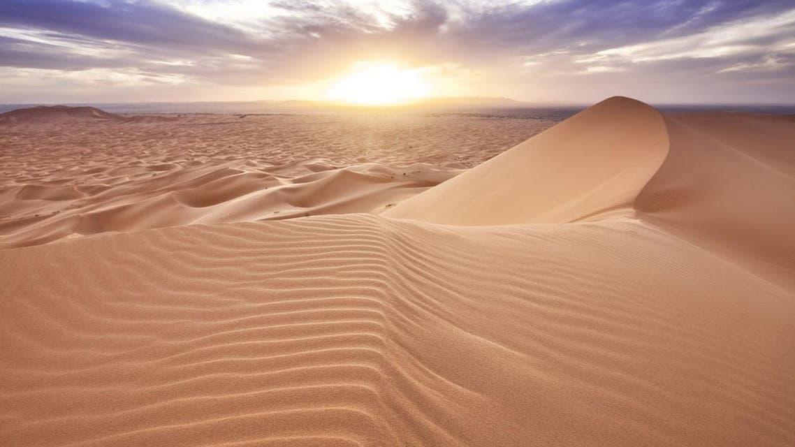 صحراء توضيحية