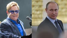 Putin's meeting with Elton John over gay rights postponed