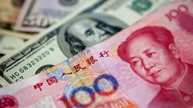 بيانات تجارية تظهر انخفاض العملة الصينية مقابل الدولار