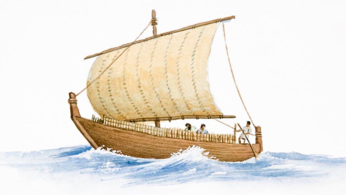 الفينيقيون كانوا يركبون البحار - توضيحية