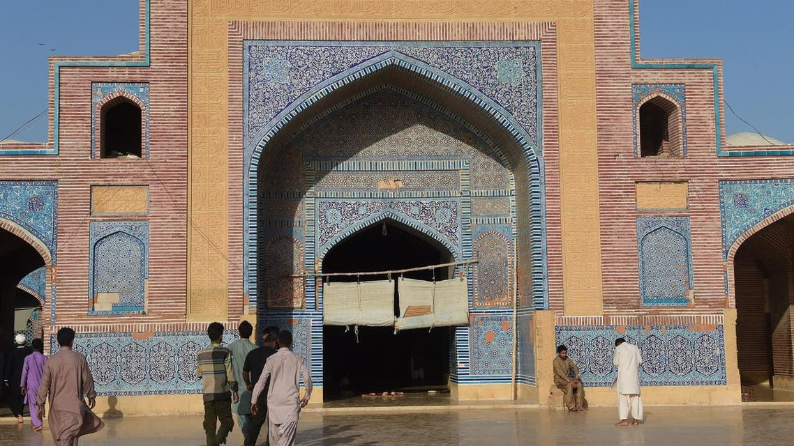 Spanning more than 6,300 square feet, it was famously constructed so that an imam's voice could travel to every corner without amplification. (AFP)