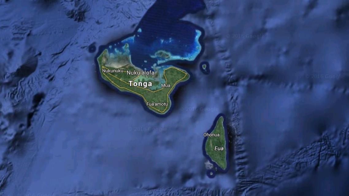 There was no indication of a tsunami warning according to the Pacific Tsunami Warning Centre on Tonga. (Google Maps)