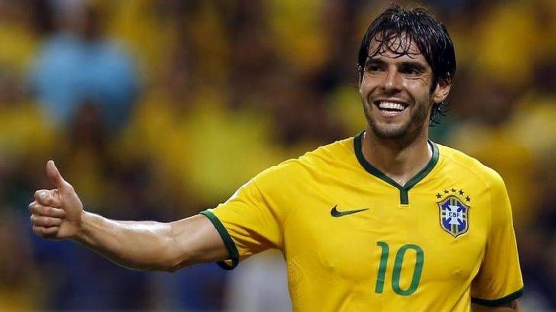 Former AC Milan and Real Madrid player Kaka has been a regular in coach Dunga's squads without getting much game time. (Reuters)