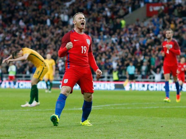 إنكلترا تهزم أستراليا بهدفي روني وراشفورد