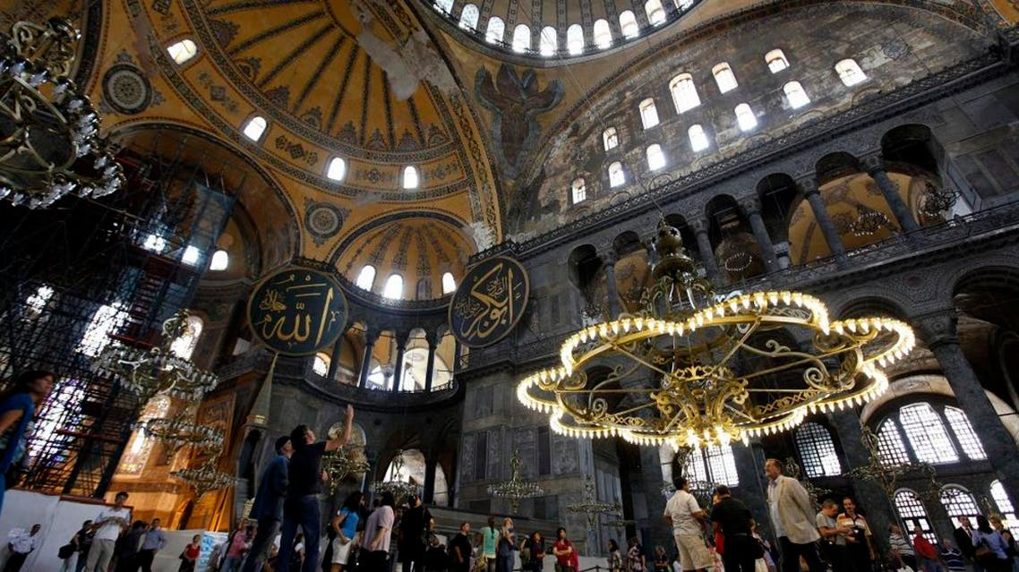 Muslims in Turkey demand right to pray at Hagia Sophia REUTERS