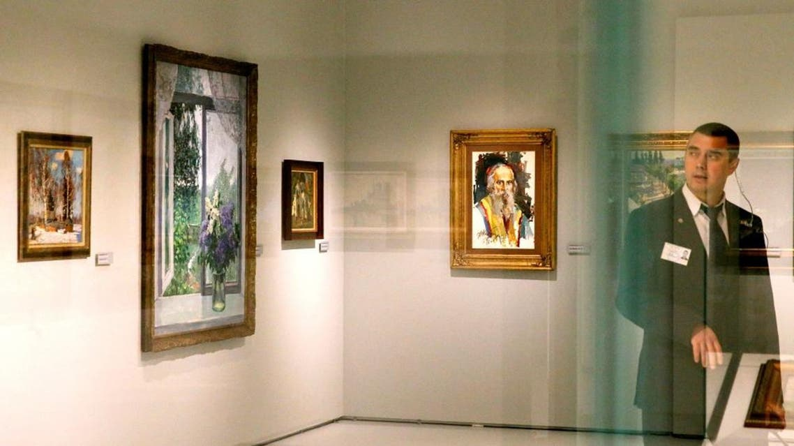 Museum of Russian impressionist art opens in Moscow REUTERS