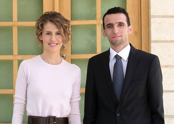 أسماء الأسد ووسام الطير