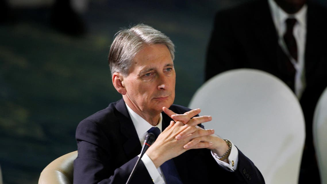 British Foreign Secretary Philip Hammond attends the opening session of the second Regional Security Summit in Abuja, Nigeria May 14, 2016. REUTERS