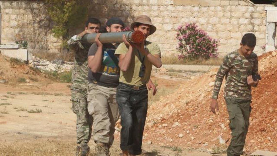عناصر من الحر في ريف حلب