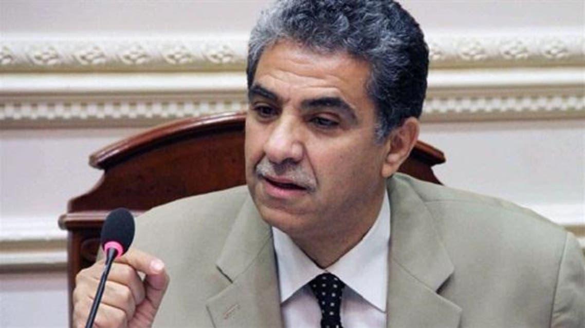 خالد فهمي وزير البيئة المصري