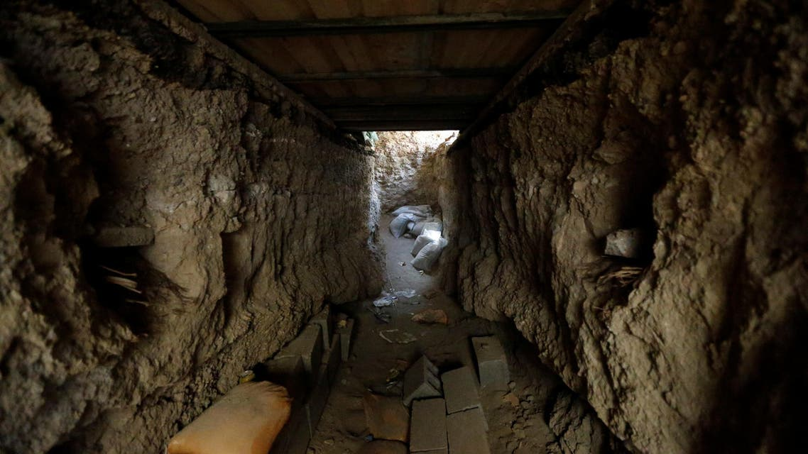 Inside the tunnels of ISIS