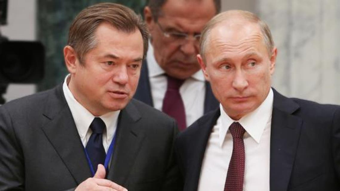 بوتين ومستشاره ولافروف
